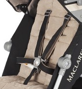 Maclaren Techno XLR 5 punktowe pasy